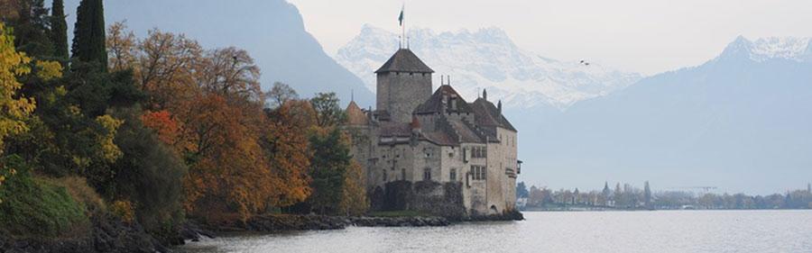 Fahrt zum Genfer See