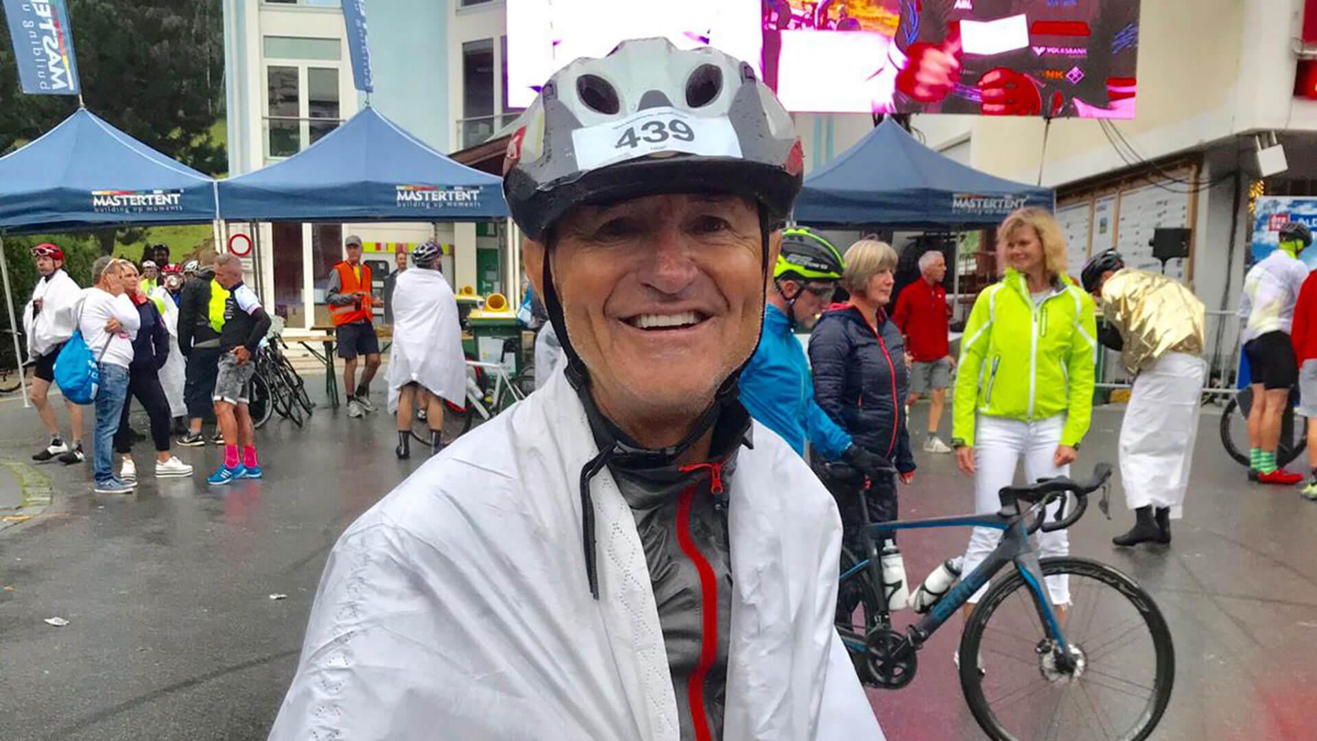 Roland Fuchs beim Oeztaler Radmarathon 2019