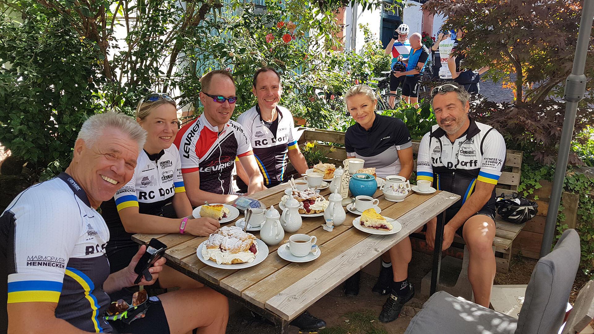 RC Dorff Team ROAD Ausfahrt 21.09.2019