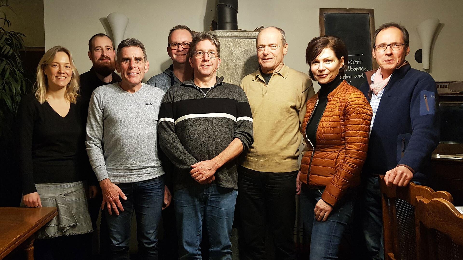 RC Dorff Vorstand 2020