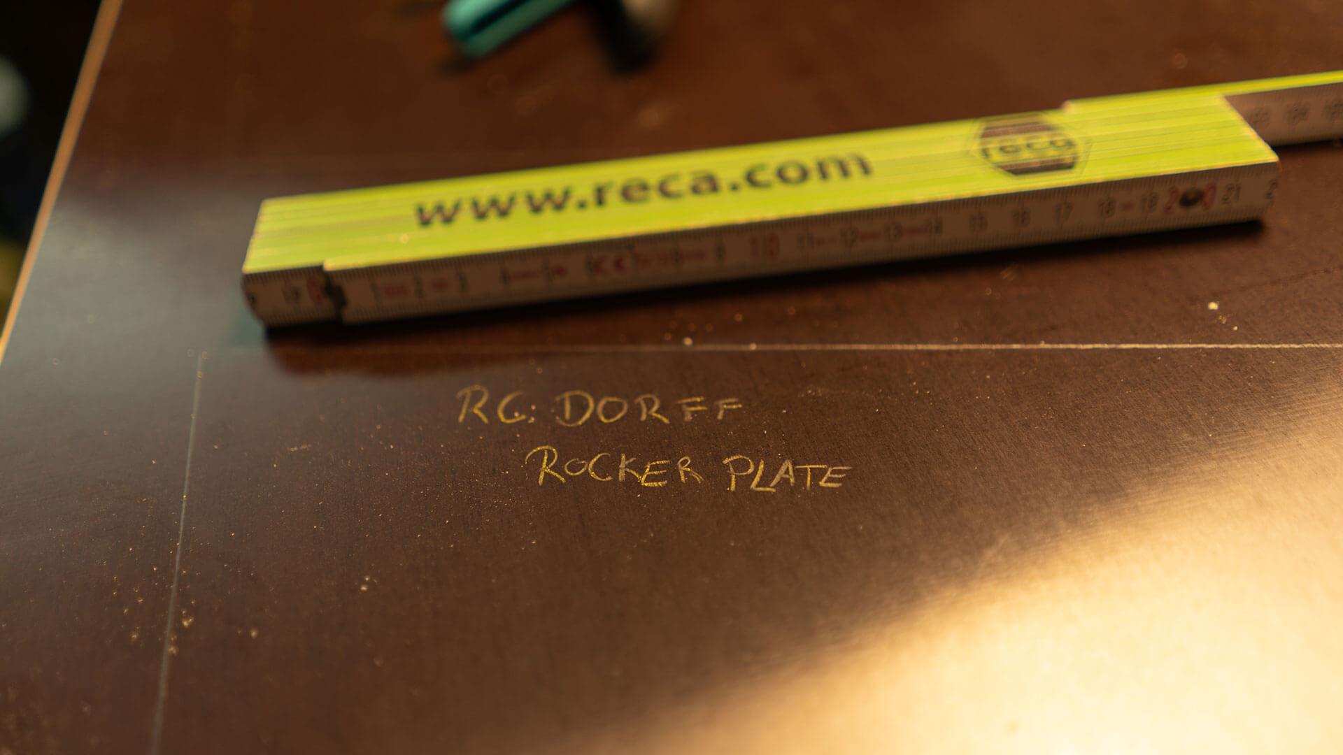 Rocker Plate RC Dorff