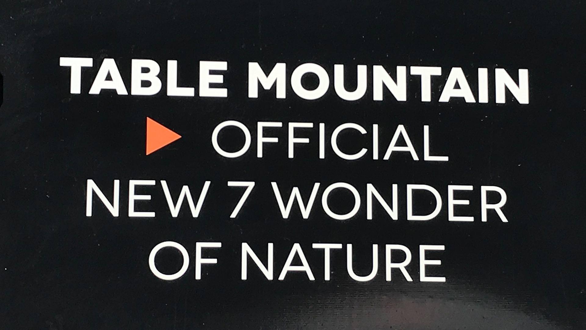 Tafelberg - Ein Naturwunder