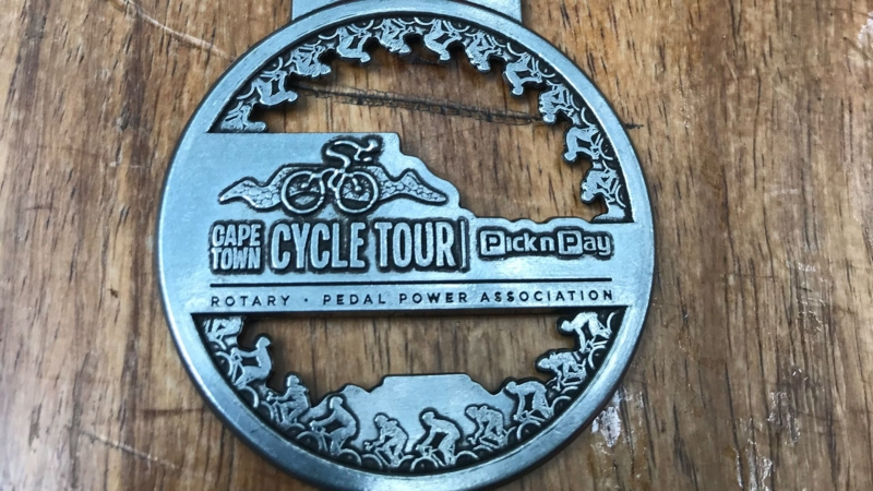 Cape Town Cycling Tour Medaillie