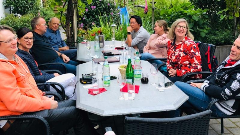 RC Dorff Gemeinsames Abendessen in Erden
